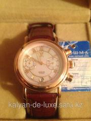Продам мужские золотые наручные часы.