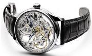 Элитные мужские часы Skeleton необычного дизайна